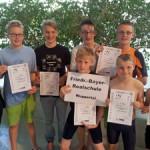 Tolle Mannschaftsleistung der FBR - Schwimmer beim Landesfinale in Neuss