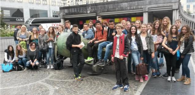 La visite de Liège (Lüttich)