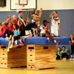 Gemeinsam stark - Sportwettkampf der Fünftklässler