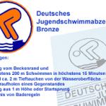 """""""Bronze-Schwimmkurs"""" für angehende Sportschüler der FBRS"""