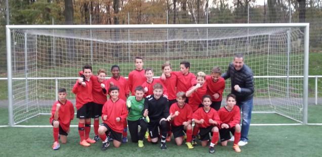 WK III der Jungen erspielen sich die Fußballstadtmeisterschaft
