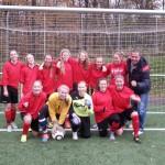 WK II der Mädchen erspielen sich die Fußballstadtmeisterschaft
