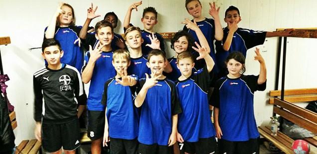 Junge Handballer holen 3. Platz bei Stadtmeisterschaften