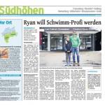 Talentförderung an der FBRS - Ryan will Schwimm-Profi werden
