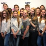 Schüler zu Besuch bei EinsLive