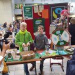 Fairtrade-Glücksrad-Aktion an der FBR