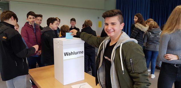 Juniorwahl an der FBR 2017