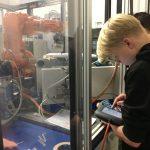 Robotik-AG an der FBR in Kooperation mit der Firma Berger-Gruppe