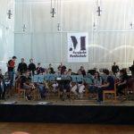 """Auftritt der """"Bläserklasse 6B"""" in der Bergischen Musikschule"""